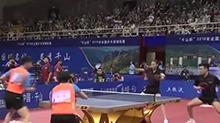 【叽里呱啦体育派】全锦赛:马龙 丁宁混双首轮顺利过关