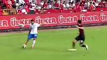足坛资讯第673期:土俄足球友谊赛 球迷很热情比分0比0