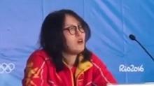 傅园慧:我不想做网红哒!喜欢我会不会太重口味?