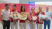4名湘籍运动员出征里约奥运归来