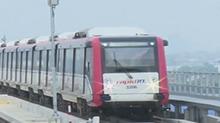 """马来西亚:中车株机在吉隆坡""""承包""""了一条轻轨 今天升级加车"""