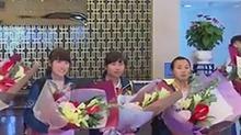 里约残奥会湖南代表团返湘 9名运动员均获奖牌