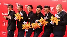成龙上海国际电影节成最忙明星 四部新片打包开发布会