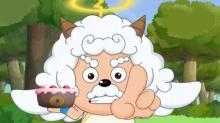 懒羊羊:族长骗走了我的蛋糕怎么办