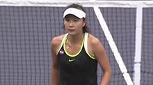 【叽里呱啦体育派】彭帅夺得天津网球公开赛双冠