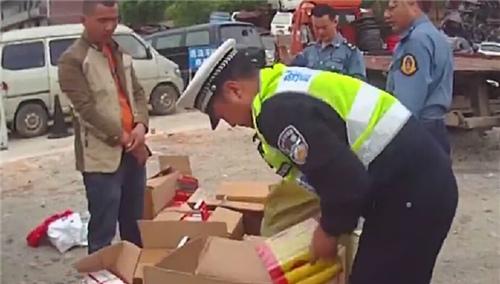 衡邵高速:面包车满载打火机加气罐被查