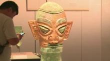 三星堆和金沙遗址出土文物在长沙展出