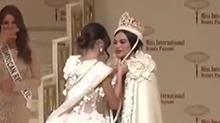 """""""国际小姐""""选美决赛 菲律宾佳丽夺冠"""