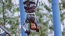 佟丽娅《真男2》挑战高难度直升机滑降 杨幂落地后泣不成声
