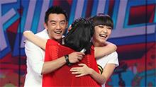快乐大本营20110702期:<B>孙</B><B>骁骁</B>与郑恺戴假发秀演技