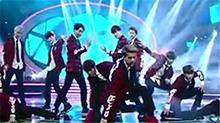 湖南卫视元宵喜乐会20140214期:<B>EXO</B>帅气来袭