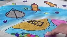 5068网儿童画第44期:探索外星文明