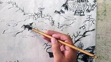 5068网国画课程第34期:小品 皴擦