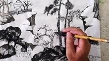 5068网国画课程第35期:小品 补笔
