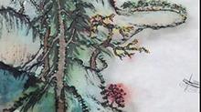 5068网国画课程第43期:竖幅长卷 附彩