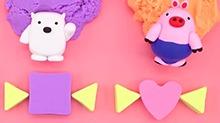 方块熊乐园第163期:送给<B>萝卜</B><B>兔</B>的彩色糖果