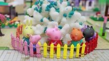 【<B>小猪</B><B>佩奇</B>玩具故事】会开花的植物