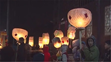怀化溆浦:舞双龙接财神 欢乐闹新春