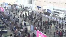 长沙:春运接近尾声 学生流务工流助推出行小高峰