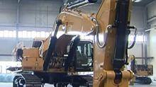 """徐州:大块头也要""""讲漂亮"""" 卡特彼勒超大型、大型挖掘机中厚钢板湘钢供"""