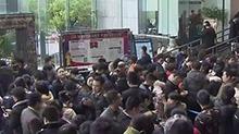 长沙二手房交易市场走俏 市民凌晨排队