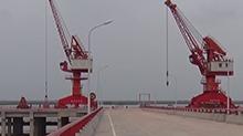 岳阳鹿角港码头:试运行百天 货运量超4万吨