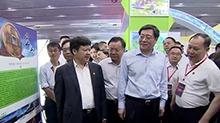 杜家毫巡视第五届中国(湖南)国际矿物宝石博览会场馆 打造世界级矿物宝石展示交流平台