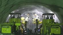 黔张常快速铁路将贯穿我国中西部贫困地区 首座高风险长大隧道桑植隧道贯通