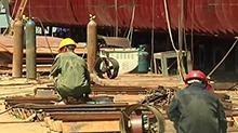 益阳:船舶工人调整作息赶订单