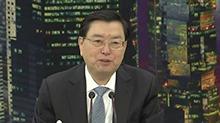 张德江参加香港代表团 澳门代表团审议