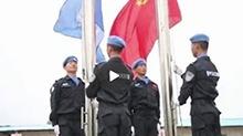 中国维和警察致谢<B>吴京</B>:感谢吴导让我们看到《战狼2》