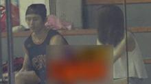 <B>张哲瀚</B>打球获美女陪伴 同回一家酒店疑恋情曝光