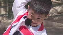 """胡可带娃记第13期:小鱼儿魔性模仿小猴 安吉卖力召唤""""猪猪侠"""""""