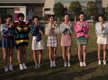 星姐选举20171230期:12强佳丽挑战3D硬照 主题曲录制状况不断