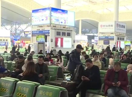 """火车南站迎""""全年旅客最少日"""""""