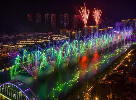 中国国际花炮文化节浏阳开幕