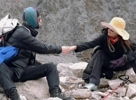 第10期:陈学冬黄婷婷携手登山
