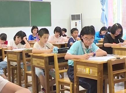 长沙举行初一新生入学分班考试