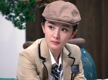 第7期:杨幂女扮男装帅气逼人