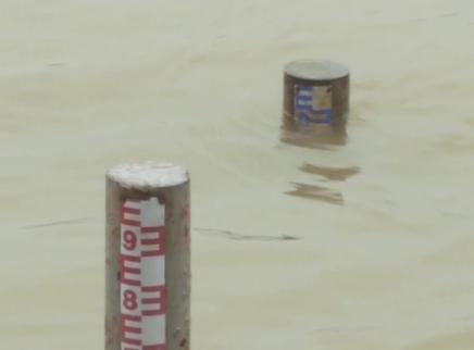 湘江水位4小时涨2.4米