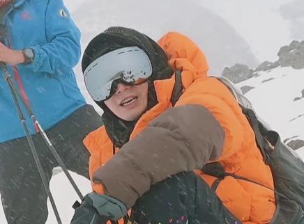 41期:挑战之王陈学冬登顶雪山