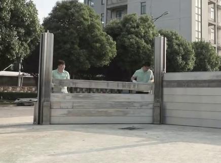 防洪挡板安装需要多长时间?