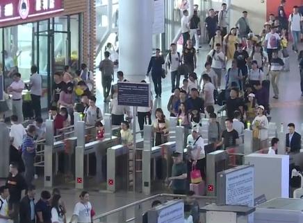 暑运返程高峰 长沙火车南站